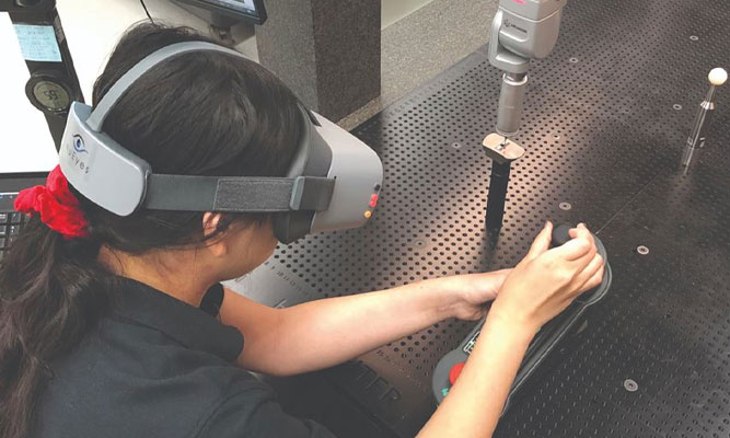 Virtual reality and manufacturing