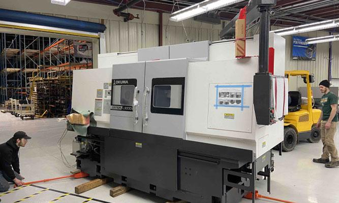 Okuma CNC equipment