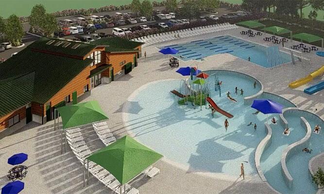 Marshfield aquatics center