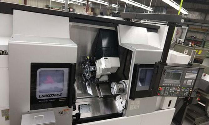 Okuma 5 axis CNC machining