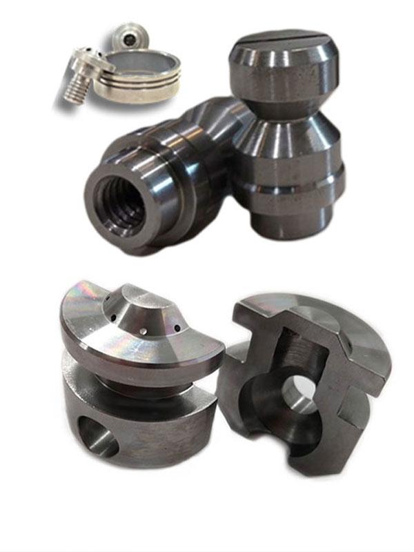 CNC milled titanium parts
