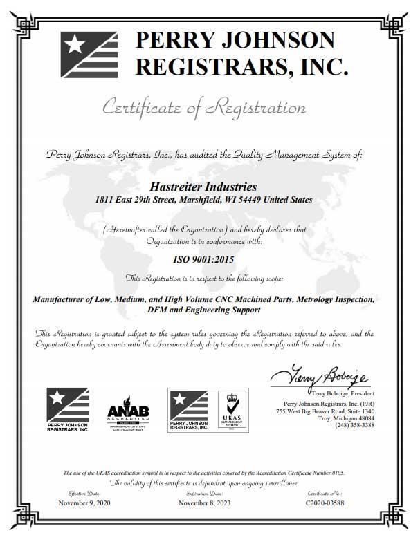 Hastreiter-ISO-Certificate