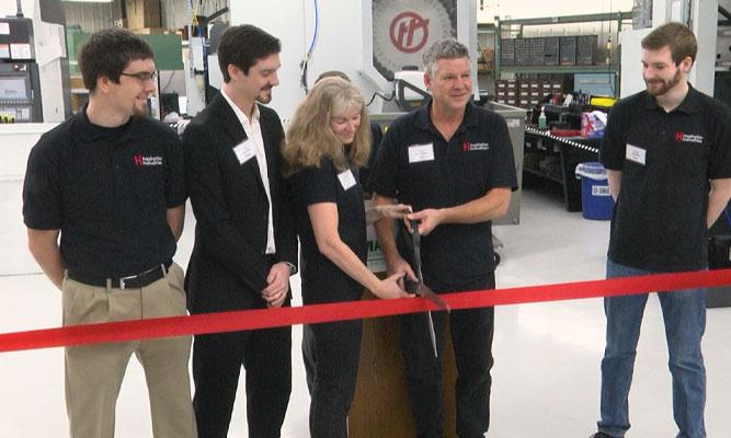 Hastreiter Industries new machine shop