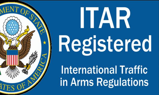 ITAR registered machine shop