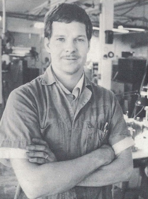 Ken Hastreiter CNC Machinist