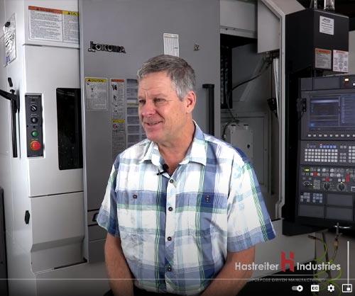 Machine shop award - Hastreiter