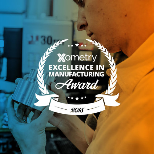 Xometry Award - Hastreiter Industries